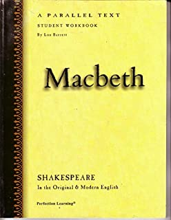 Macbeth Parallel Text Student Workbook (Shakespeare in the Original& Modern English)