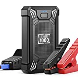 Car Battery Jump Starter Portable - 600A Peak Waterproof 12V Portable Battery Booster Pack (up to...