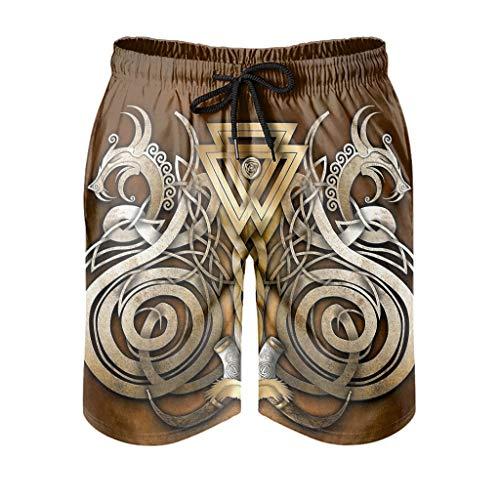 Pantalones de playa de ajuste seco para hombre con bolsillos Fitness - Pantalones