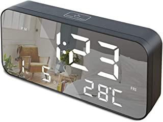 GLOUE LED Digital Alarm Clock, 9.6