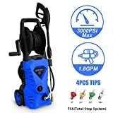 Best Electric Pressure Washers - WHOLESUN 3000PSI Electric Pressure Washer 1.8GPM 1600W Power Review
