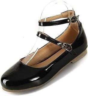 BalaMasa Womens APL12262 Leather Fashion Sandals