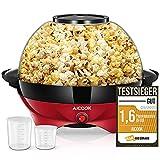 Macchina Popcorn, 5L Macchina per Popcorn con Rivestimento con Antiaderente, Staccabile, Silenzioso e Rapido, Senza BPA