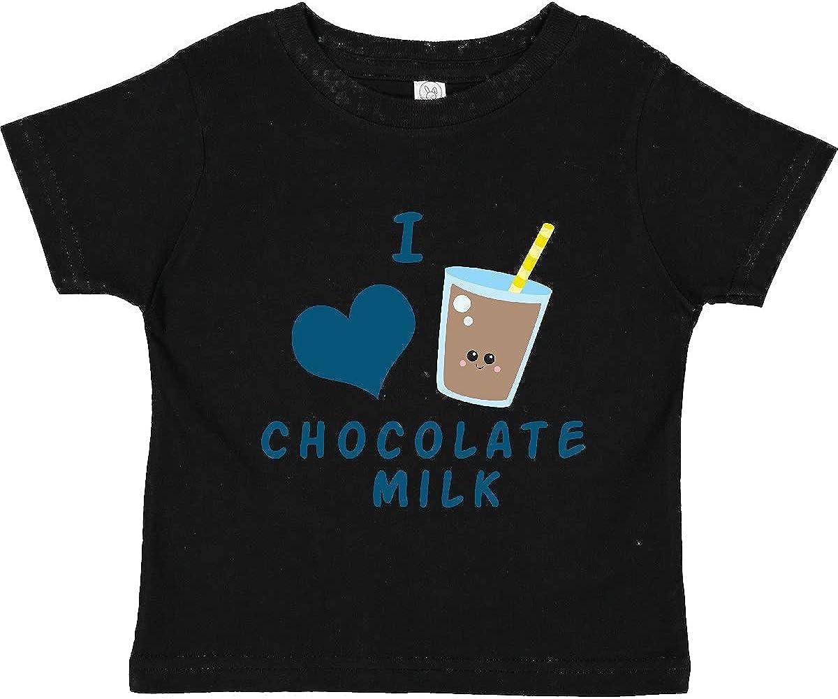 inktastic I Love Chocolate Milk Toddler T-Shirt