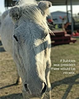 If Bubbles was president there would be no war.