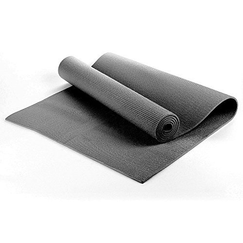 TNP Accessories Yoga Exercise Fitness Workout Non Slip Mat With Carry Case 183cm x 61cm x 0.6cm - 6mm Thick