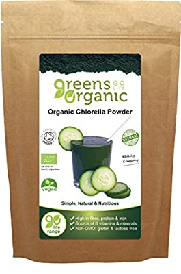 Greens Organic 100 g Chlorella Powder by Greens Organic