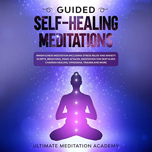 Guided Self-Healing Meditations cover art