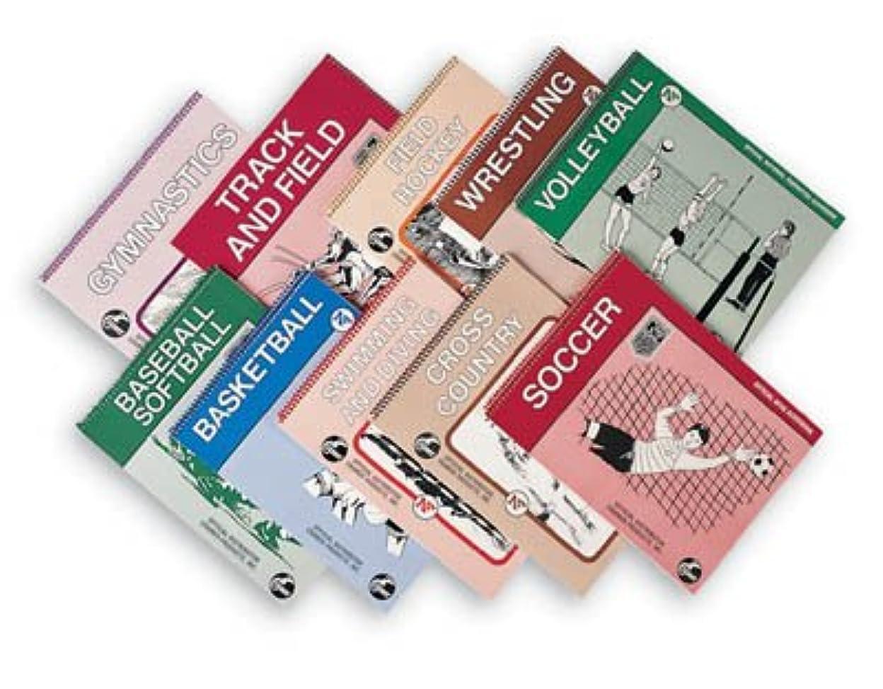 フェミニン大宇宙価値のないNFHS High School公式Scorebooks (野球/ソフトボール、バスケットボール、トラック/フィールド、ラリークロス国、体操、サッカー、バレーボール、レスリング、フィールドホッケー