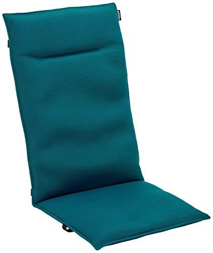 Lafuma gepolsterte Air Comfort Auflage für Hochlehner, coral blue (türkis)