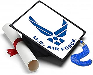 Tassel Toppers Air Force - Graduation Caps for Future Air Force Recruits - Decorated Grad Caps