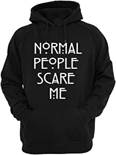 YM Wear Normal People Scare Me Hoodie Hooded Sweater