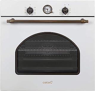 CATA | Horno Multifunción 8 Funciones | Horno Modelo MRA 7108 WH | Capacidad Interior de 60 litros | Rango de temperatura 50º-250º | Sistema de limpieza AquaSmart | Clase de eficiencia energética: A