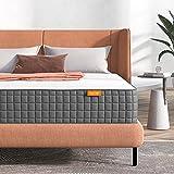 Queen Mattress, Sweetnight Breeze 10 Inch Queen Size Mattress-Infused Gel Memory Foam Mattress for Cool Sleep, Supportive & Pressure Relief, Medium Firm