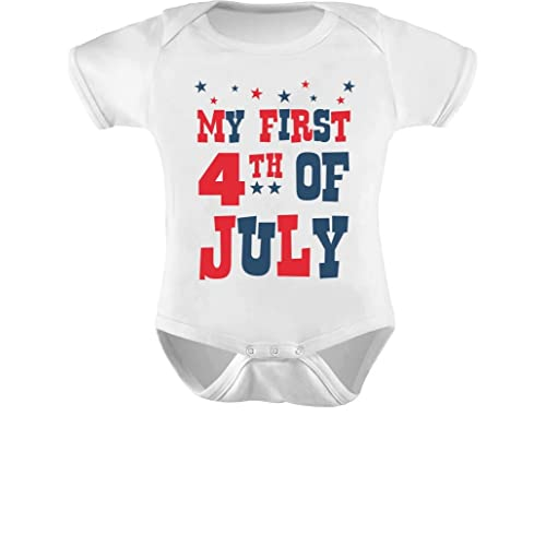 f15ba9693 Tstars My First 4th of July Infant Independence Day Gift USA Baby Bodysuit
