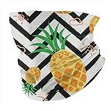 Bandanas Headwrap Hawaiian Geometric Pineapple Face Scarf Cover Mask - Neck Gaiter Sun Dust Bandanas