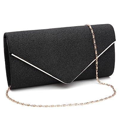 Evening Bag Womens Shining Fashion handbag for weddingand Party Envelope Clutch Purses