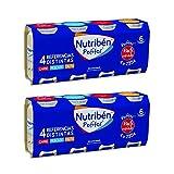 Nutribén - Packs De Potitos Variados: 4 x Carne, 2 x Pescado Y 2 x Fruta, Desde los 6 Meses, Pack 8 x 235g., 1880 g