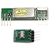RioRand(TM) 433MHz Superheterodyne RF Link Transmitter and Receiver Kits 3400 for ARM/MCU