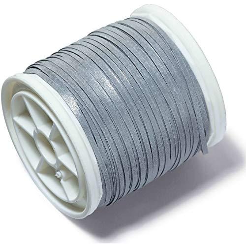 Prym Reflektierende Strick-Gewinde Mischgewebe, Polyester, Mehrfarbig, 1mm 25m