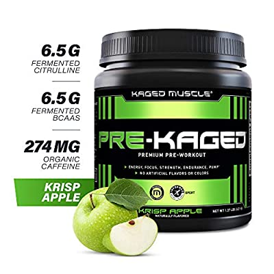 Kaged Muscle - Pre-Kaged Pre-Workout Primer Krisp Apple from Kaged Muscle