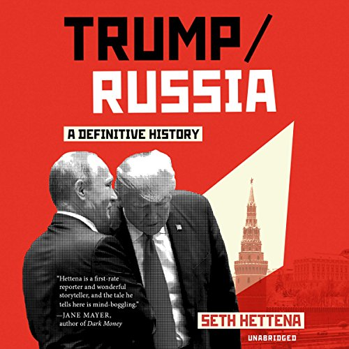 Trump/Russia audiobook cover art