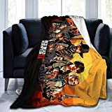 Red-Dead-Redemption 2 Ultra-Soft Micro Fleece Blankets Decor Soft Flannel Super Soft Cozy Couch Blanket All Season Premium 3D Printing Bed Throw Blanket 80'X60'