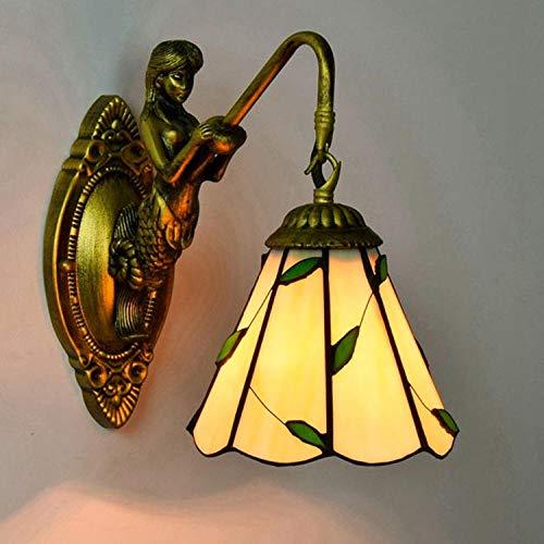 Lampe Wandleuchte Wandlampen Aussenlampe Einfache Mediterrane Gartenblatt Wandleuchte Bar Restaurant Wohnzimmer Nachtwandleuchte @ Single Kopf Wandleuchte