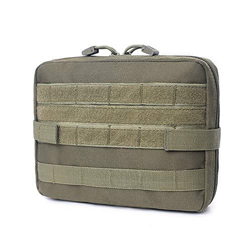 MikeyBee Bolsa de Bolsa Militar Cubierta médica EMT Paquete táctico Camping al Aire Libre Caza Utilidad Kit de Herramientas múltiples Accesorios Bolsa EDC(E)