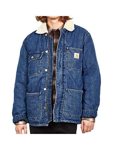 Carhartt Giacca Jeans con Orsetto Interno e Tasche Denim, XL
