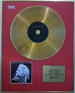 ELLIE GOULDING - Ltd Edition CD Gold Disc - HALCYON