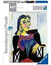 Ravensburger 14088 puzzel voor volwassenen, 1000 p, portret van Dora Maar Pablo Picasso Art Collection