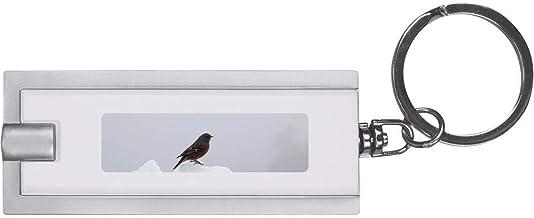 'Bird on Snow' Keyring LED Torch (KT00001031)