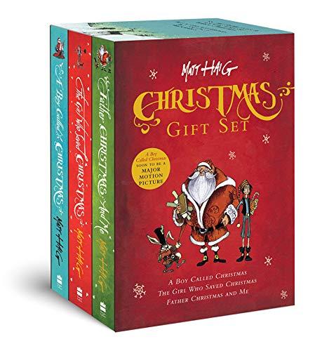 Christmas Gift Set: A Boy Called Christmas, The Girl Who Saved Christmas, Father Christmas and Me