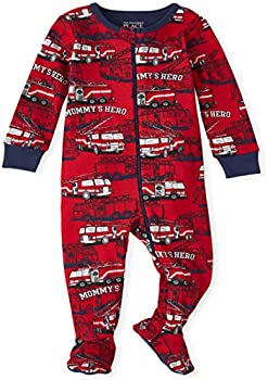 The Children's Place Baby and Toddler Boys Cotton One Piece Pajamas