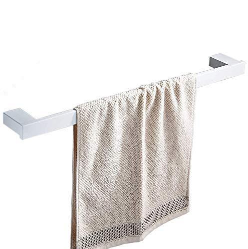 Handtuchhalter 40 cm Wand montiert, SUS304 Edelstahl, weiß Malerei Badezimmer Helfer, xy3301 W-40
