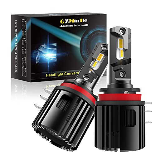 H15 Led Headlight Bulb 100W 10000Lm LED Chip Canbus 6000K Bombillos For Vw Benz Audi Ford Golf LED Headlights Wireless Drl Super Bright Best Led Headlights Low and High Beam Led Headlight Bulbs