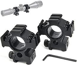 BESTSIGHT Rifle Scope Ring Set 1inch/30mm High Profile Multi Picatinny/Weaver Rail Scope Ring