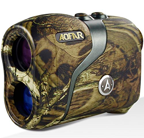 AOFAR H3 Hunting Range Finder 800 Yards, Wild Waterproof Coma Rangefinder for Shooting and Archery with Angle and Horizontal Distance, Range and Bow Mode, Gift Package…