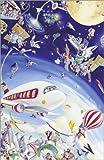 Poster 61 x 91 cm: Wimmelbild: Himmel und Weltraum von