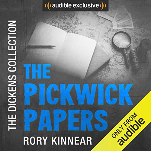 The Pickwick Papers     The Dickens Collection: An Audible Exclusive Series              De :                                                                                                                                 Charles Dickens,                                                                                        Neil Gaiman                               Lu par :                                                                                                                                 Rory Kinnear,                                                                                        Neil Gaiman                      Durée : Indisponible     Pas de notations     Global 0,0