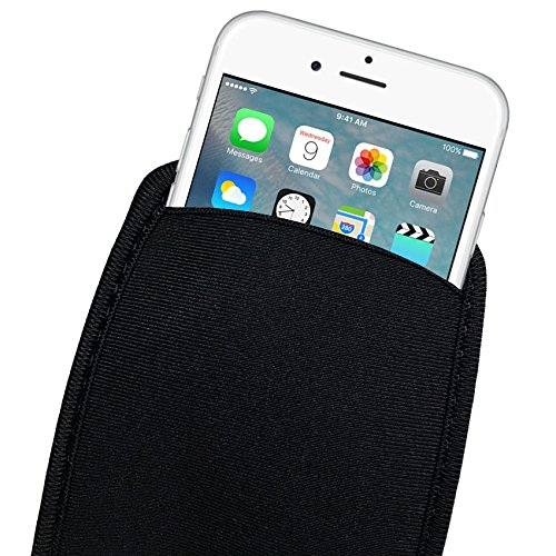 Aeoss Elastic Soft Flexible Neoprene Protective Mobile Pouch Bag for iPhone 6...