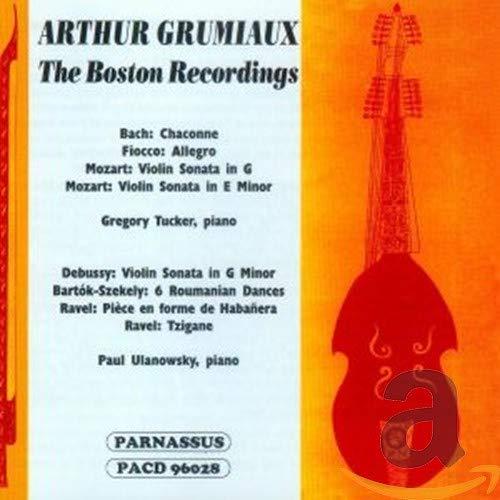 Grumiaux - The Boston Recordings