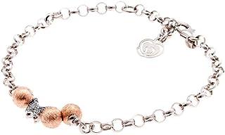 Bracciale in Argento 925 Charm Farfalla Brillante Collezione Praline