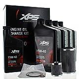 Can-Am New OEM XPS Spyder Engine Oil Change Kit Rotax 991 SE5, 779248
