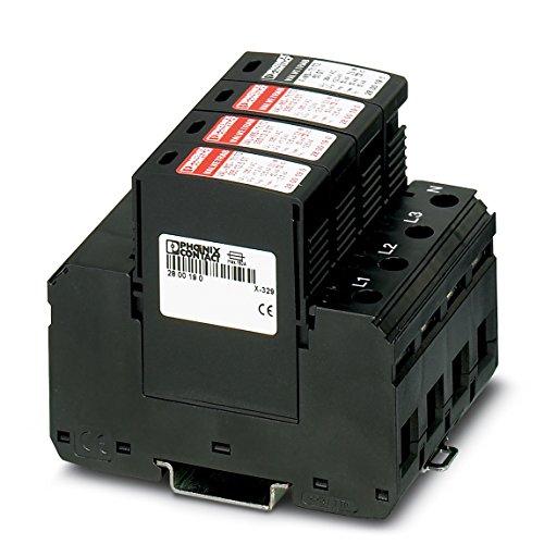 PHOENIX CONTACT Blitzstrom / Überspannungsableiter, Typ 1/2 VAL-MS-T1/T2 335/12.5/3+1, 2800184