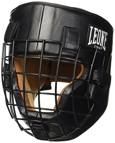LEONE 1947 CS424 FIGHTER Casque Protection - noir - L