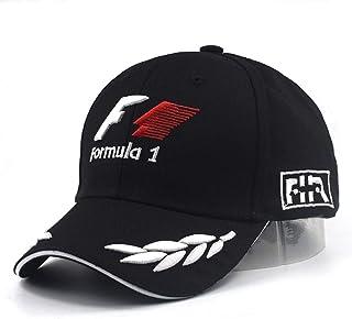 comprar comparacion VIIMON Hombres de Fórmula 1 Gorras de Béisbol Negro F1 3D Bordado Sombreros Motociclismo Racing Gorras Ajustable Deportes ...