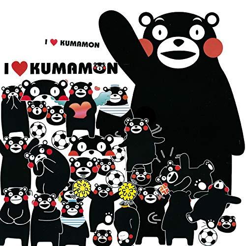 YUHANG Big Zhang Kumamoto bear stickers cartoon cute suitcase stickers suitcase trolley computer stickers waterproof