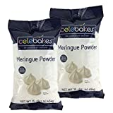 Celebakes by CK Products Meringue Powder 1 Pound (16 Ounces) (Pack of 2)